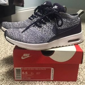 Women's NIKE Air Max Thea Ultra Flyknit. Size 8.5.
